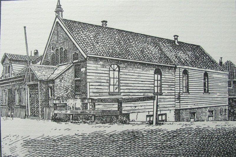 Oude gereformeerde kerk te Nieuwendam.