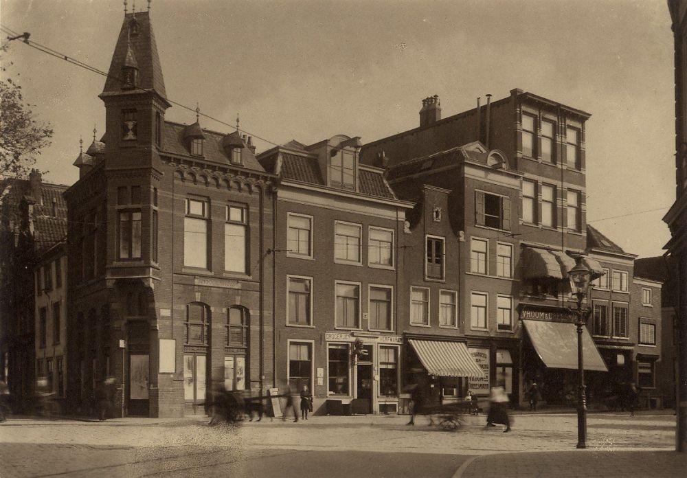 Haarlemse Gierstraat voor de bouw van de V&D