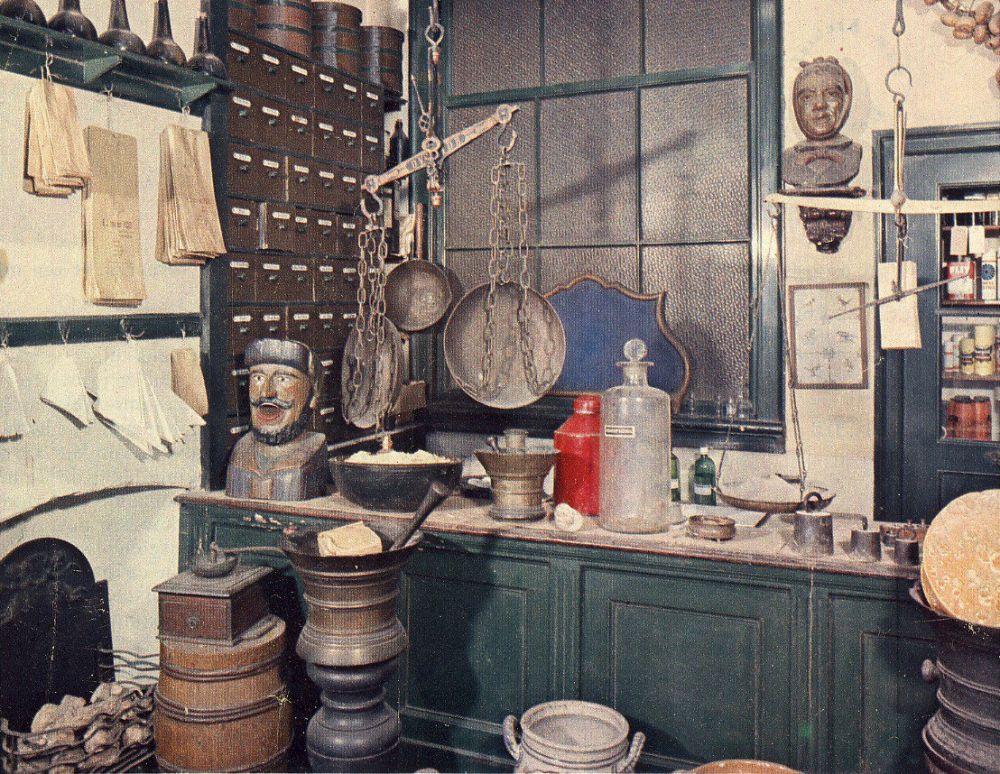 Binnen bij Van der Pigge in 1972