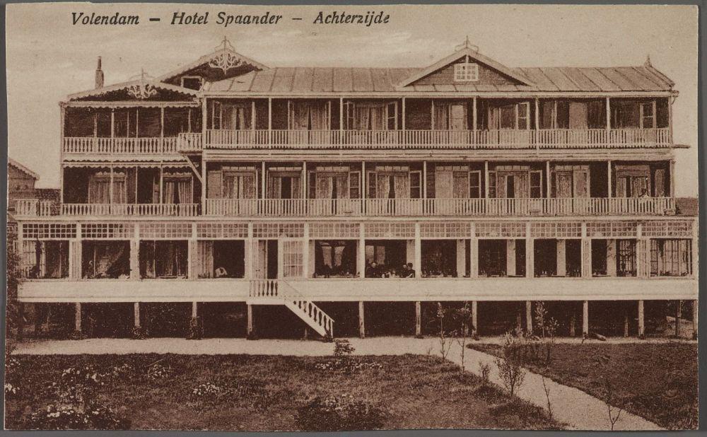 Hotel Spaander - Achterzijde