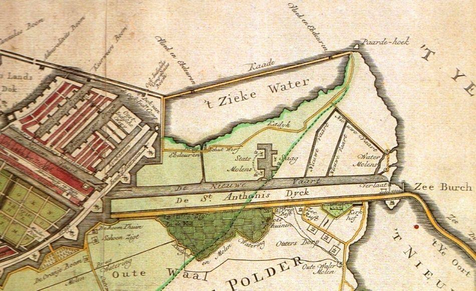 Het Zieke Water, 1770.
