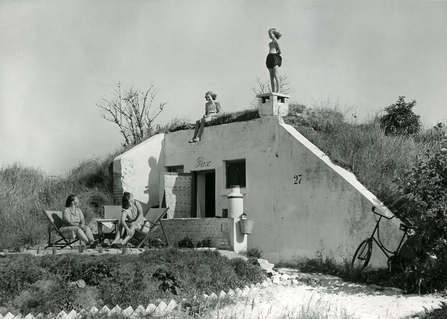 Bunkervakantiewoning in het Kostverlorenpark bij Zandvoort
