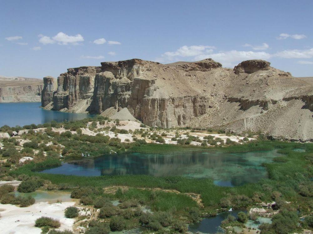 Band-e Amir in Afghanistan