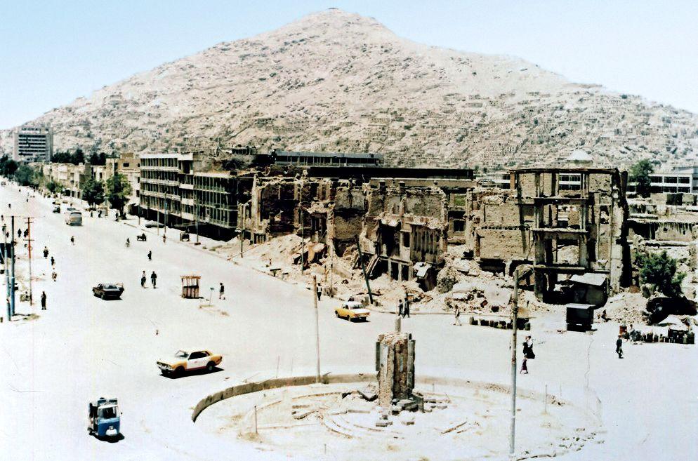 Kabul na de verovering door de taliban