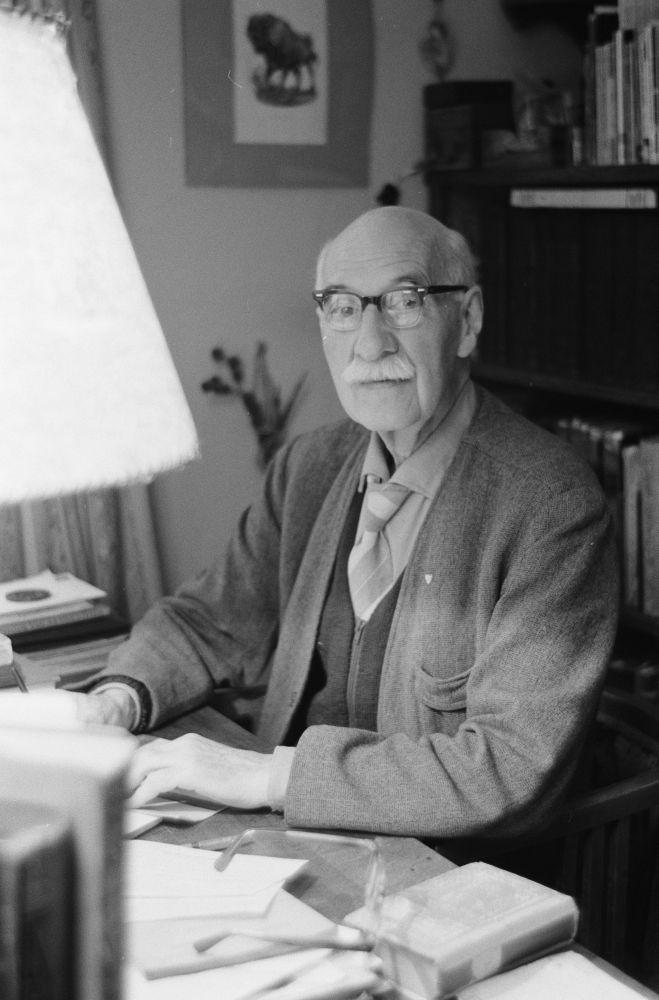 Armand Sunier, directeur van Artis tijdens de oorlogsjaren.