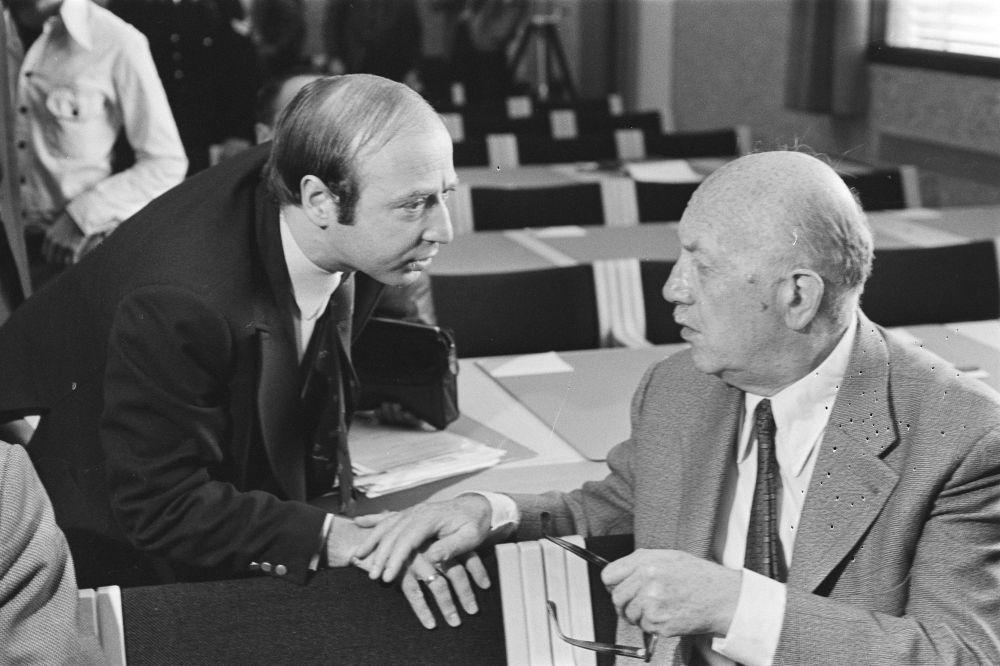 Hans Knoop en Chaviv Kanaan.