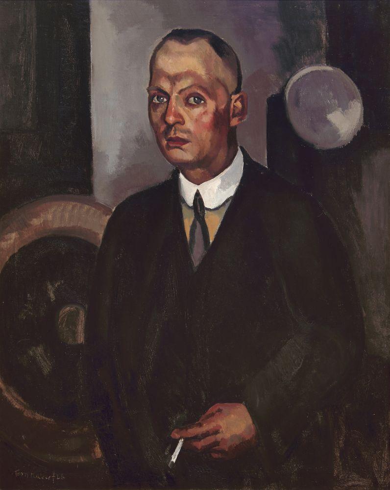 Toon Kelder, Portret van W.F. Selderbeek, 1926, olieverf op doek, 110,5 x 90,5 cm, particuliere collectie. Foto: Beeldbank Stedelijk Museum Alkmaar