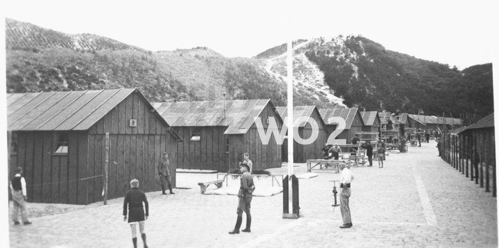 Kamp Schoorl in 1941.