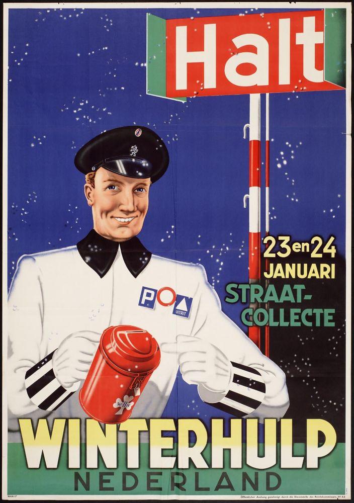 Affiche voor de Winterhulp uit 1940.