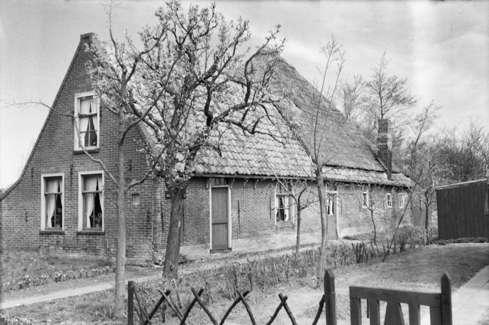Een boerderijtje aan de Driestedenweg te De Weere.