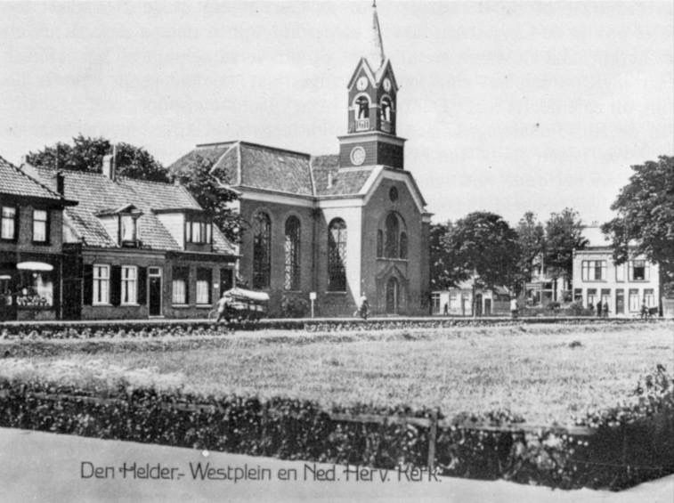 De Westerkerk in Den Helder.
