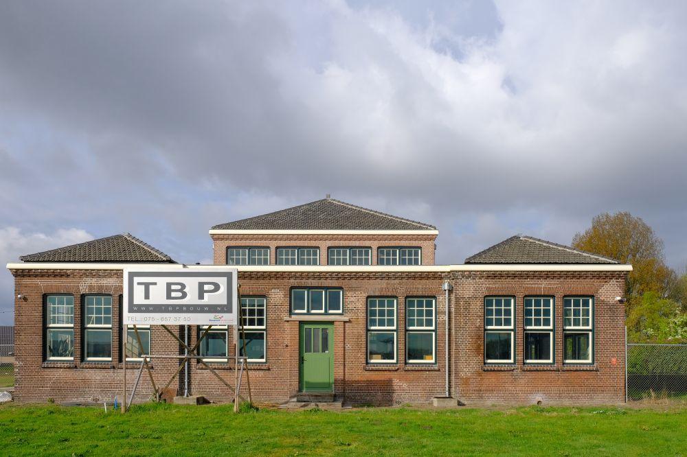 Gebouw 197 op het Hembrugterrein na de restauratie. Beeld: Aart Jan Mossel.